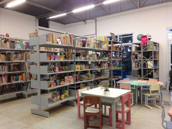 Foto da Biblioteca Pública Infantil 'Monteiro Lobato'