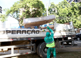 Operação Cata-Treco terá ação com sete caminhões no Campo Grande