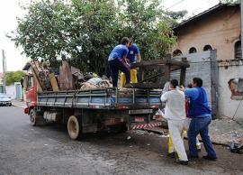 Mutirão em bairros prepara megaoperação contra  'Aedes aegypti'