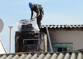 Contra a dengue, em dois dias, Exército tela 120 caixas d'água em Campinas
