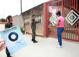 Saúde e Exército realizam mutirão de combate às arboviroses no Flamboyant