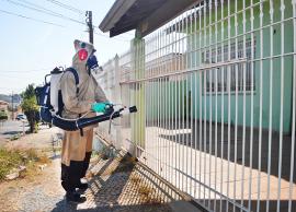 Agentes da Sucen e da Prefeitura unem forças em operação de nebulização