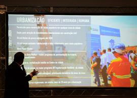 Prefeito anuncia ações para próximos quatro anos e o novo slogan da cidade