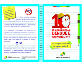 Campinas divulga novo balanço de dengue com casos de 2015
