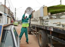 Mutirão contra a dengue termina com a remoção de 25 toneladas de lixo