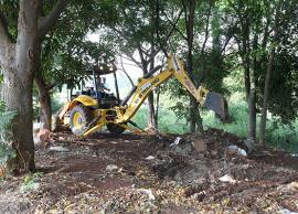 Mais de 1,1 mil ton de entulhos já foram removidas da região Sudoeste