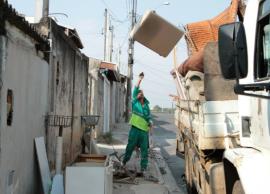 Distrito do Ouro Verde recebe mutirão de dois dias contra a dengue