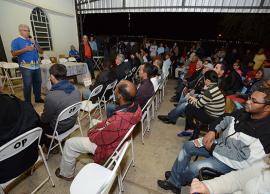 Reunião no Campo Belo capacita população para revisão do Plano Diretor