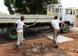 Serviços Públicos faz mutirão contra a dengue em Barão Geraldo