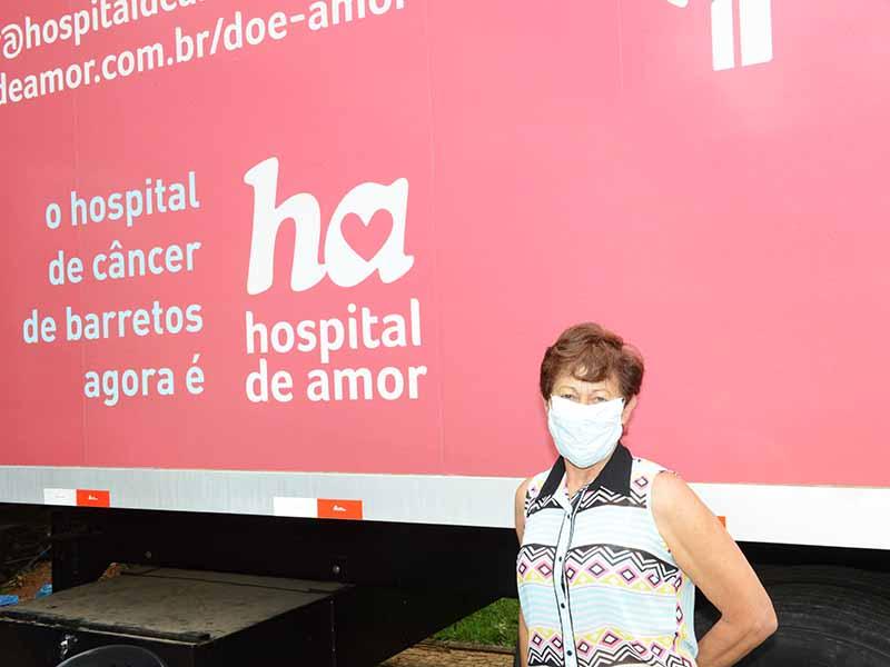Foto: Cecília soube dos exames pela Educativa | Crédito: Eduardo Lopes
