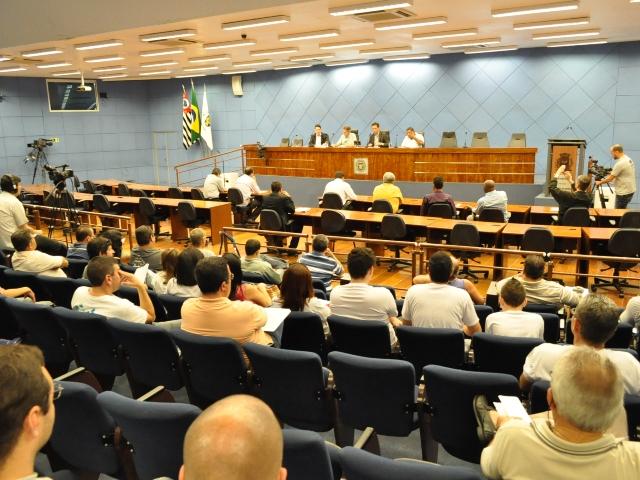 Foto: Atividade lotou a Câmara | Crédito: Divulgação/Emdec