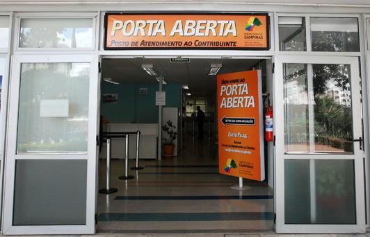 Foto: A adesão ao Refis pode ser feita presencialmente, no Porta Aberta, ou de forma digital   Crédito: Arquivo PMC